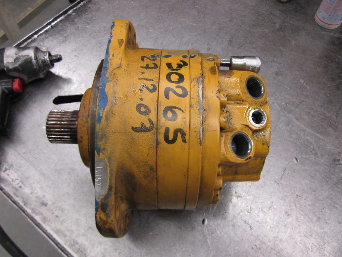 Poclain Motor MS 05 Repair test Hydraulische motor poclain MS MSE