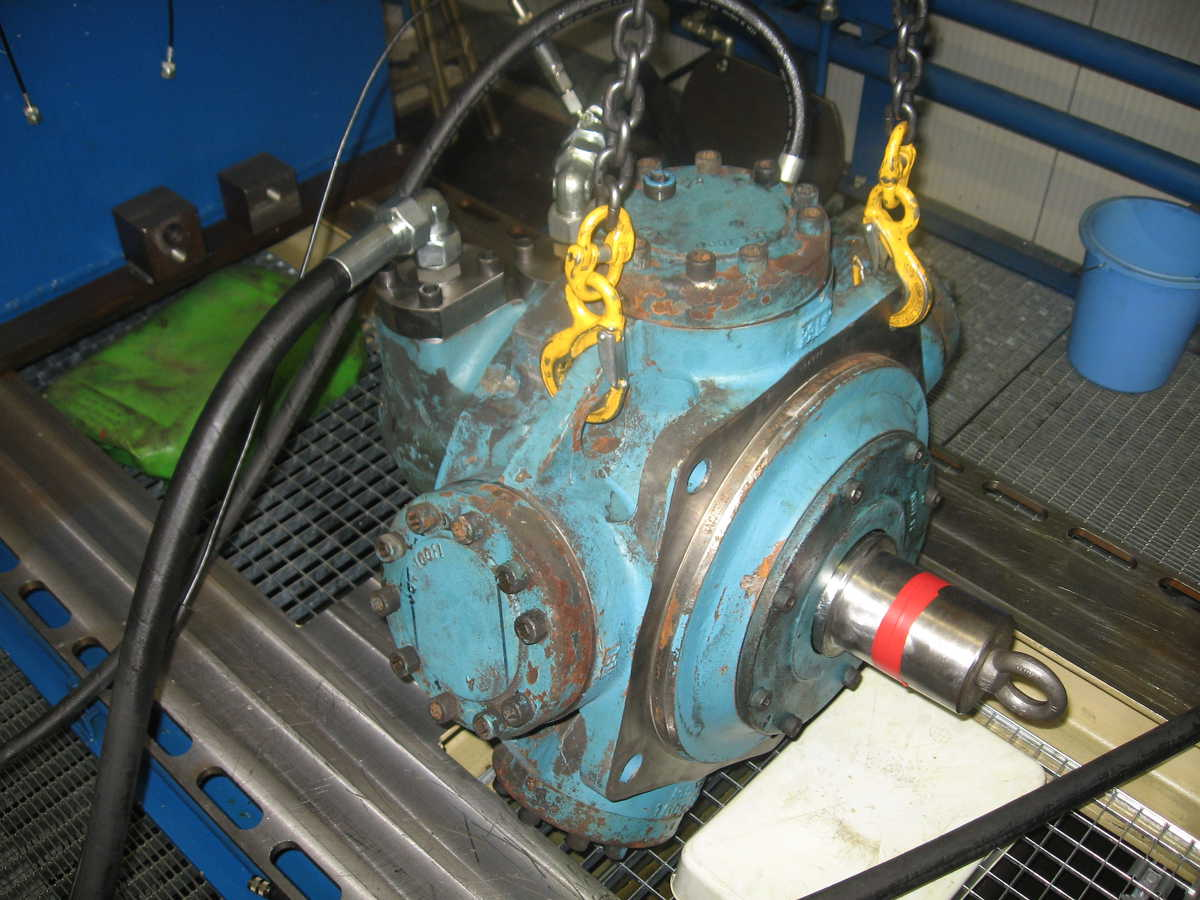 Rotary Power motor revisie herstellen repair testen Rotary power